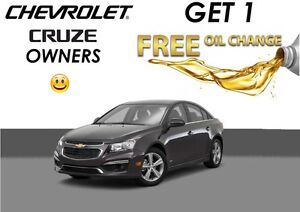 Free Lube Oil and Filter* Elantra Focus Cruze & more!