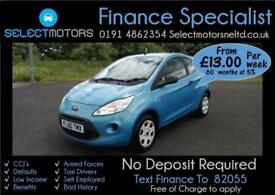 2010 Ford Ka Only 58k Miles Studio FINANCE AVAILABLE 1.2