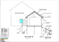 I offer CAD drawings drafting $0.25/Sq.Ft. & Eng. Stamp Service