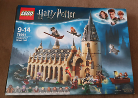Harry Potter Lego Great Hall set 75954 complete