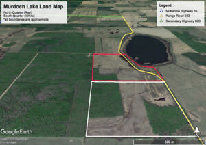 Lowest Cost Farm Land on the Market (290 Acres) with LAKEFRONT
