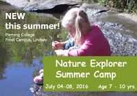 Nature Explorer Summer Camp