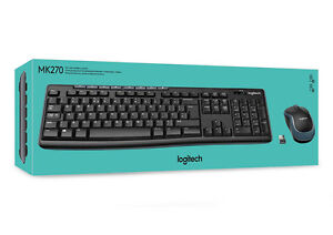 Logitech MK270 Wireless Combo Keyboard and Mouse (Openl Box)