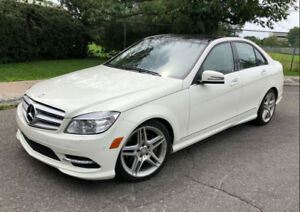 2011 Mercedes C350 4 Matic AMG Navigation 59$/week 1 yr Warranty