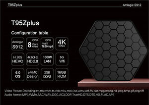 T95Z Plus Amlogic S912 Android TV BOX 2G/16G Media Player 2.4G&5 Kitchener / Waterloo Kitchener Area image 3