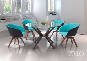 Zuo Modern Wander Swivel Dining Chairs (set of 4) **NEW**