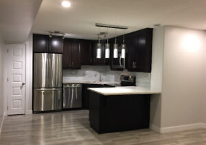 1-BEDROOM Luxurious Basement Suite, AVAILABLE IMMEDIATELY