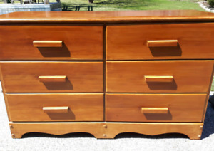 Maple Double Dresser *Delivery Available*