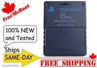 Free McBoot Sony PlayStation 2 PS2 Memory Card (8MB) - NEW fcmb