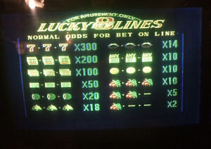 Lucky eight lines video game Peterborough Peterborough Area image 2