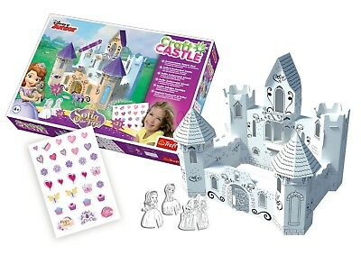 Trefl Mädchen Disney Sofia die Erste Handwerk Schloss Verzauberte Bunt Gebaut