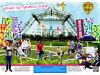 SOS Africa's Glastonbury Festival Pyramid Stage Charity Abseil Pilton, Shepton Mallet