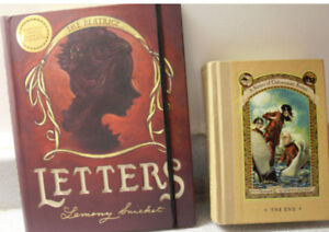 Beatrice Letters PLUS A Series of Unfortunate Events:  5 books