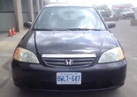 2002 Honda Civic Sedan. Automatic. Drives Great and Certified.