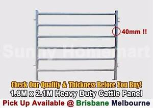 HD Galvanized Steel Live Stock Cattle Horse Sheep Yard Panel Gate Toowoomba Toowoomba City Preview