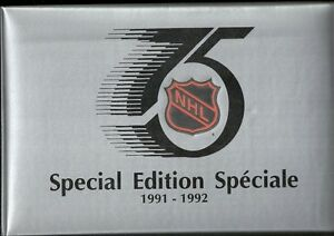 1991 - 1992 Kraft Hockey Special Edition Album