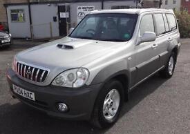 2004 (04) Hyundai Terracan 2.9CRTD 4X4 Diesel Silver