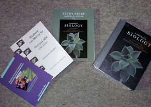 Campbell Biology textbook set for sale (Bio 107 & 120)