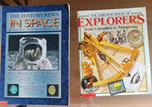Scolastics Books - history and space
