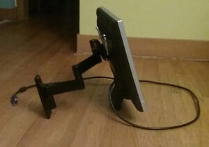 Monitor and adjustable arm