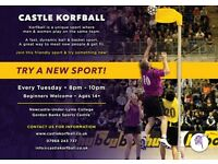 GET FIT, HAVE FUN, PLAY KORFBALL