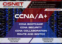 CCNA/ CCNA-Security  /  ROUTE/ SWITCH/ Comptia A+  @ CISNET.ca