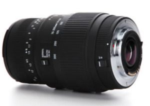Sigma 70-300mm f/4-5.6 DG Macro Telephoto Zoom Lens