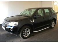 2013 BLACK LAND ROVER FREELANDER 2 2.2 SD4 190 XS 4X4 CAR FINANCE FROM £62 PW