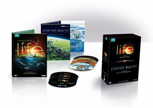 Life / Planet Earth BBC Earth DVD set