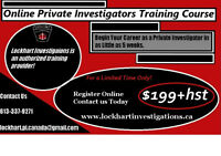 Online Private Investigators Course for a Limited Time $199