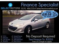 2009 Peugeot 308 Thp Cc Gt 59k Miles Finance Available 1.6