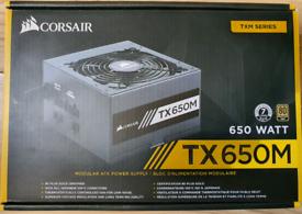 Corsair TX650M 650W 80 Plus Gold Hybrid Modular PSU
