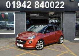 2013 13 VAUXHALL ADAM 1.4 SLAM 3D 85 BHP 3DR PETROL HATCH,31,000M, SH, ORANGE