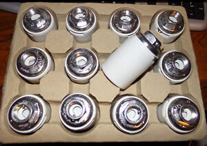 Lot (12) GE Porcelain Lamp Holder Light Sockets 4kv 600v 1500w