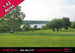 Lovely Acre + Cleared Lot With Great View of Head Pond!