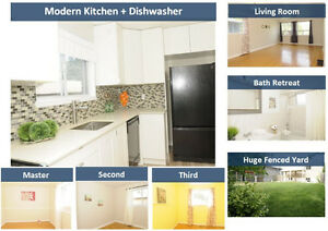 ★★★ Modern + Clean 3 BR [Yard + Private Laundry] (15min SQ1) ★★★