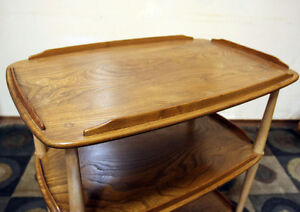 Mid-Century Elm Trolley by Luciano Ercolani for Ercol SEE VIDEO