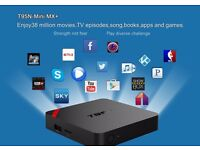 ANDROID SMART TV BOX 4K ready fully loaded