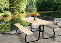 new picnic tables for sale