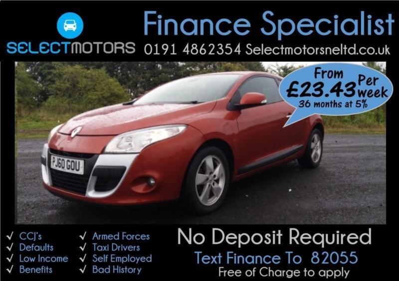 2010 Renault Megane Dynamique Tomtom Vvt Finance Available 1.6