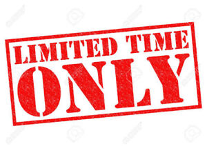Claim Thousands in Cash Incentives.  Limited Time