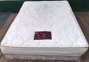 Good condition queen bed with pillow top mattress. Delivery to u Kingsbury Darebin Area Preview