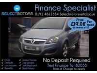 2011 Vauxhall Zafira Exclusiv Cdti Ecoflex Finance Available 1.7