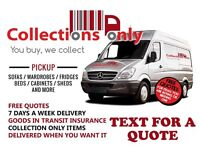 Man and van Manchester from £13 single item pickup.From £40 Flat/house moves