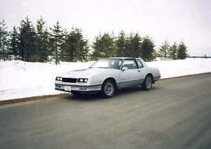 Chevrolet Monte Carlo 1988 gris vendre