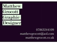 Graphic Artist/Designer available
