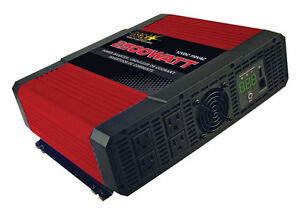 NEW NRG Superex 2500w and 5000w(Peak) Inverter For Home, Car RV.