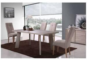 HOUSEWARES OSBORNE PARK - IVORY Dinning Table with Oak Legs Osborne Park Stirling Area Preview