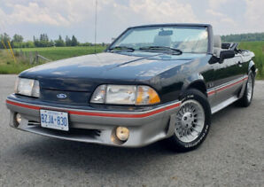 1989 Ford Mustang Convertible 5.0 Manual