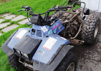 PIECES DE SUZUKI QUAD RUNNER 300 4X4 OU KING QUAD 1992